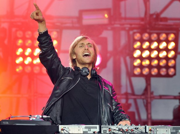 David Guetta number ones