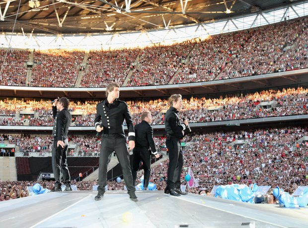 Take That at Wembley