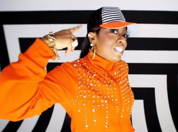 Missy Elliott in Little Mix's music video