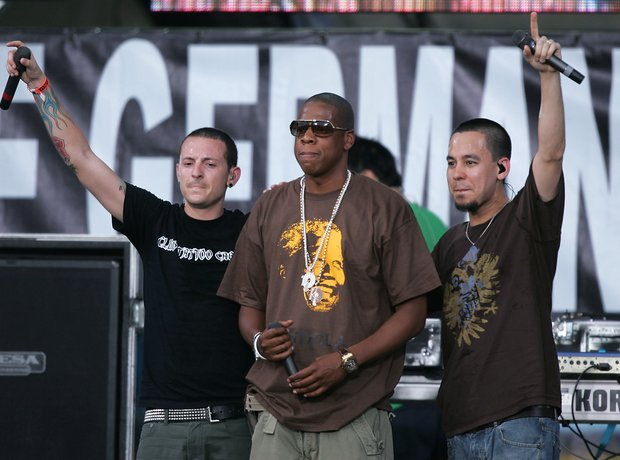 Jay Z and Linkin Park