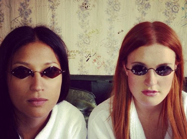 Icona Pop on instagram