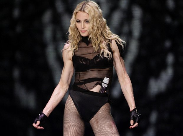 Madonna at Wembley Stadium