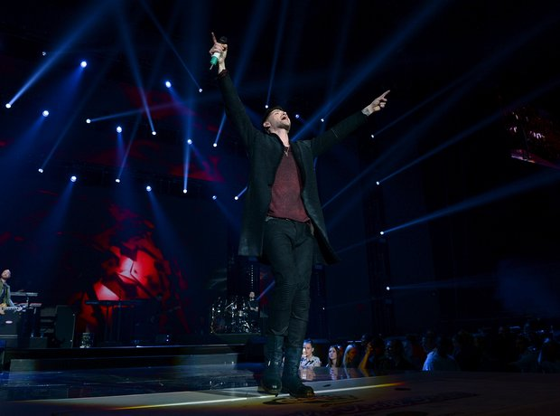 The Script Live at the Jingle Bell Ball 2014