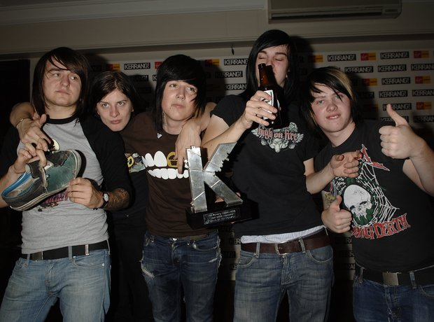 Bring Me The Horizon at the Kerrang Awards