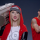 "Image 2: Screencap from Taylor Swift's ""Shake It Off"" video"