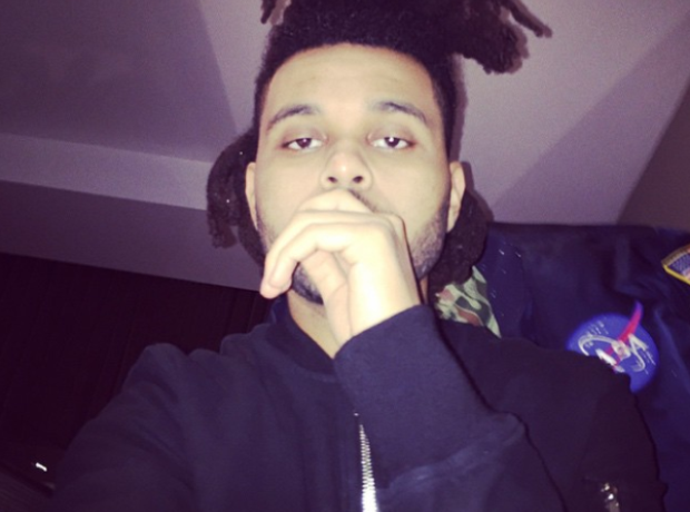 The Weeknd Instagram Selfie