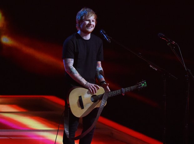 Ed Sheeran BRIT Awards 2015 Performance
