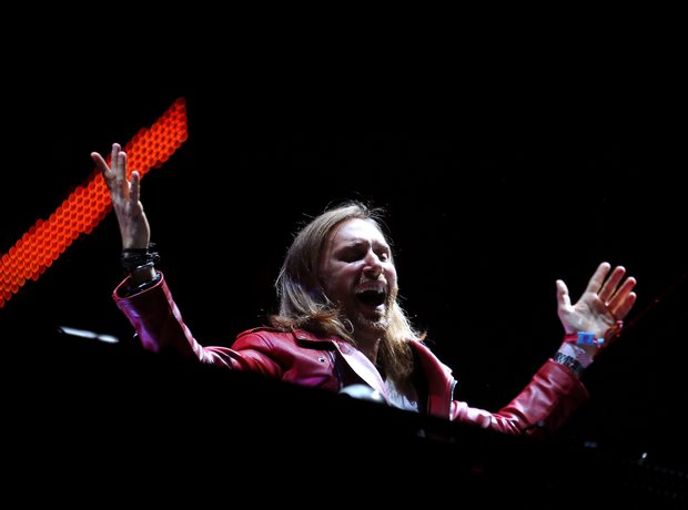 David Guetta Coachella 2015