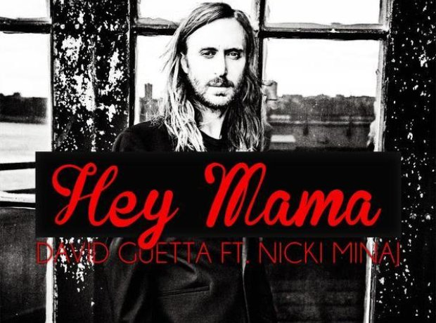 David Guetta Hey Mama Single Artwork