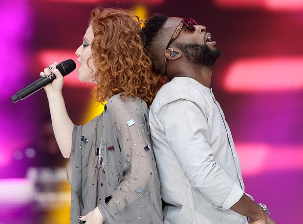 Jess Glynne and Tinie Tempah Live at the Summertim