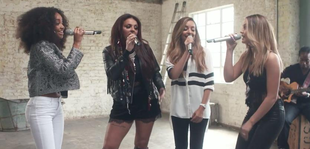 Watch: Little Mix Perform A Stunning Acoustic Version Of