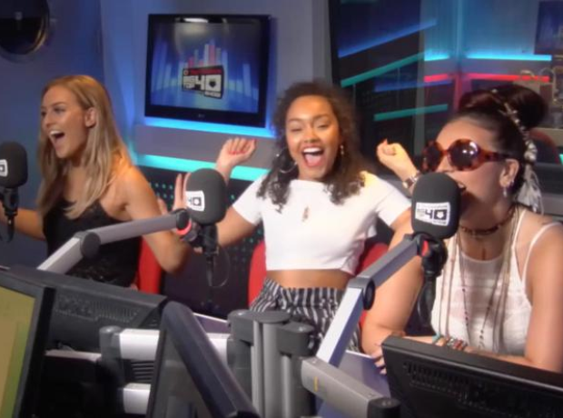 Little Mix Big Top 40 Web Chat