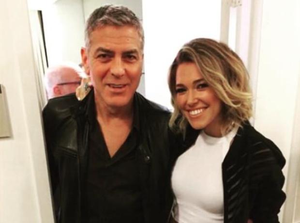Rachel Platten George Clooney