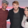 Image 6: Marvin Humes Kat Shoob James Arthur Big Top 40
