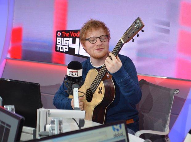 Ed Sheeran Big Top 40 Studio