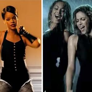 Rihanna Kanye West Beyonce YouTube throwback
