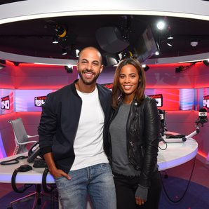 Marvin and Rochelle Humes - Big Top 40 Studio