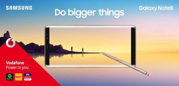 Win A Samsung Galaxy Note8