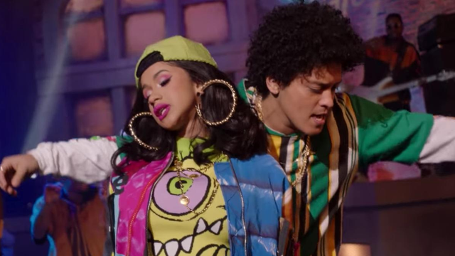 Bruno Mars Feat Cardi B Finesse Remix Bigtop40